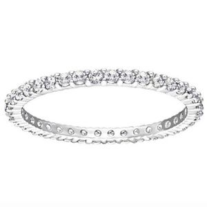 NWT! Swarovski Vittore ring size 55 (7)